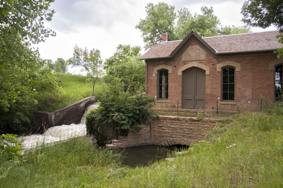 1883 Fort Collins Water Works - Photo by Gabriele Woolever