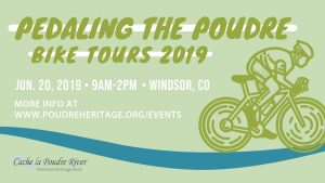 Pedaling the Poudre - Windsor (June 2019) @ River Bluffs Open Space | Windsor | Colorado | United States