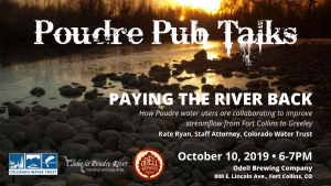 Poudre Pub Talk: Paying the River Back @ Odell Brewing | Fort Collins | Colorado | United States