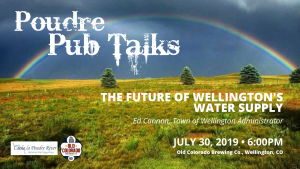 Poudre Pub Talk: The Future of Wellington's Water Supply @ Old Colorado Brewing | Wellington | Colorado | United States