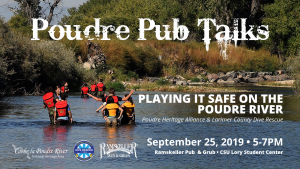 Poudre Pub Talk: Playing it Safe on the Poudre River @ Ramskeller | Fort Collins | Colorado | United States