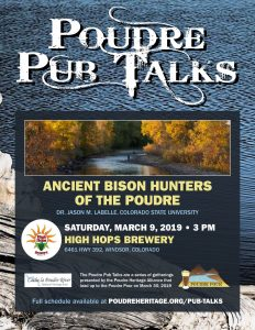 Poudre Pub Talk: Ancient Bison Hunters of the Poudre @ High Hops Brewery | Windsor | Colorado | United States