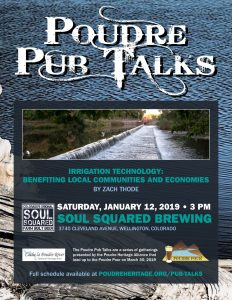 Poudre Pub Talk: Irrigation Technology @ Soul Squared Brewing Company | Wellington | Colorado | United States